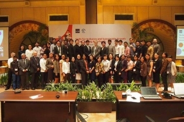 Alumni Coordinator and alumna attend Asian Development Bank Youth Skills Forum