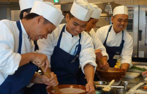 Disadvantaged youth receive recognition from five-star hotels after six months training