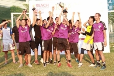 Kham Lam FC wins inaugural REACH Rumble