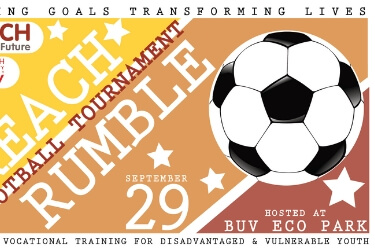 Join REACH Rumble Football Tournament and help raise funds