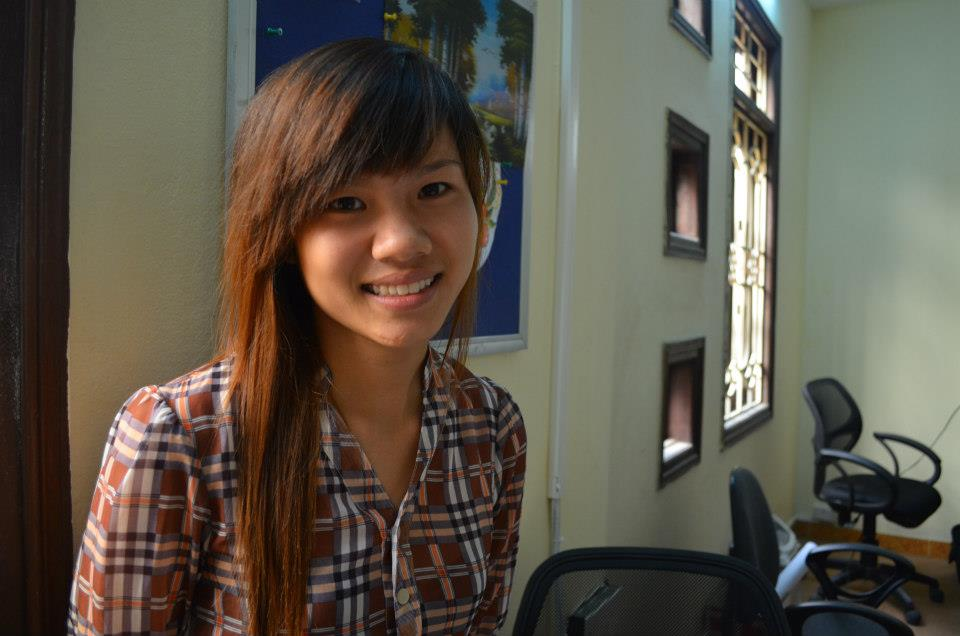 Mi Bui - a hairdressing student at REACH HN