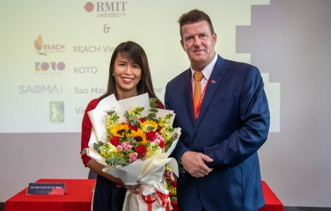 Full scholarship opportunity from RMIT University for REACH graduates