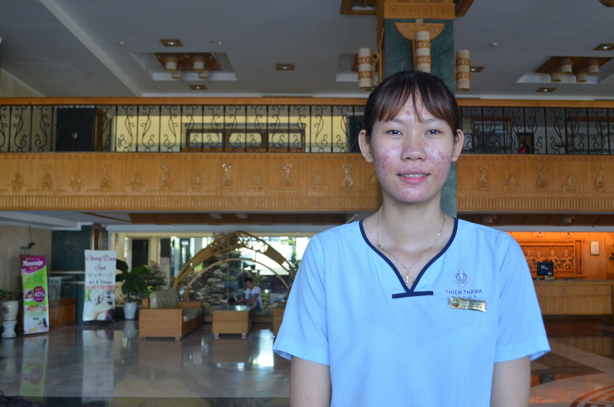 Trieu Anh Thi Nguyen a housekeeping student at REACH