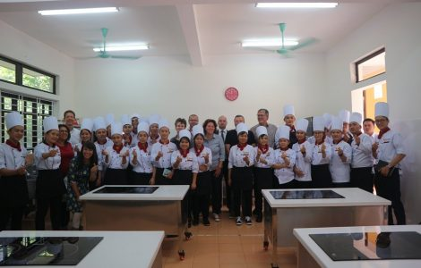The model of REACH vocational training associated with the market is highly appreciated