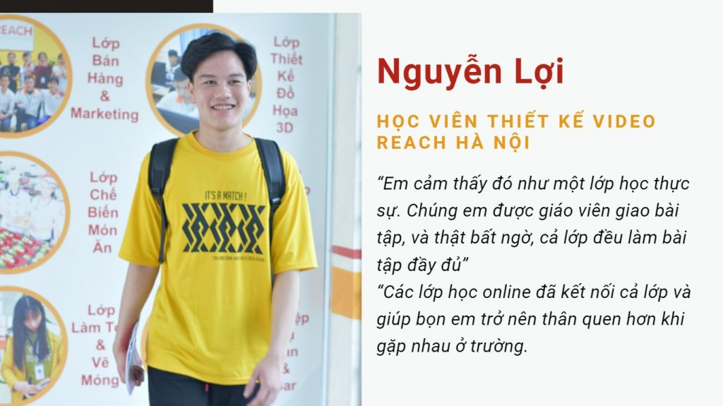 Loi Nguyen - a video editing student