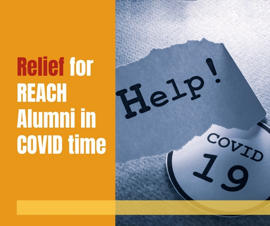 Relief for Alumni of REACH during COVID (2)