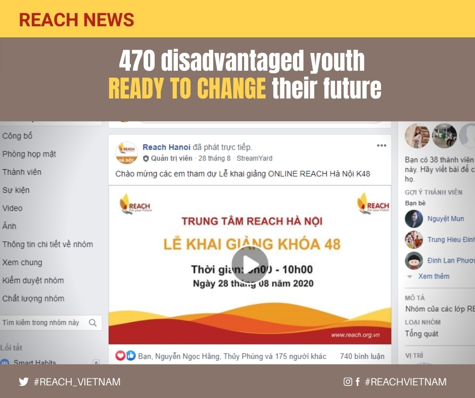 470 disadvantaged youth ready to change their future