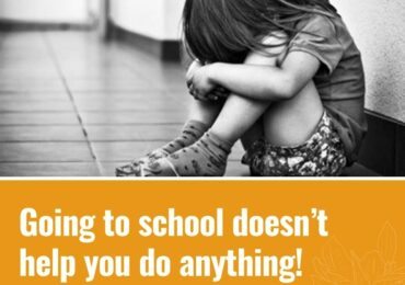 Going to school doesn't help you do anything