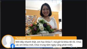 Message from Phan Lan - a former REACH Hanoi Sales Trainee