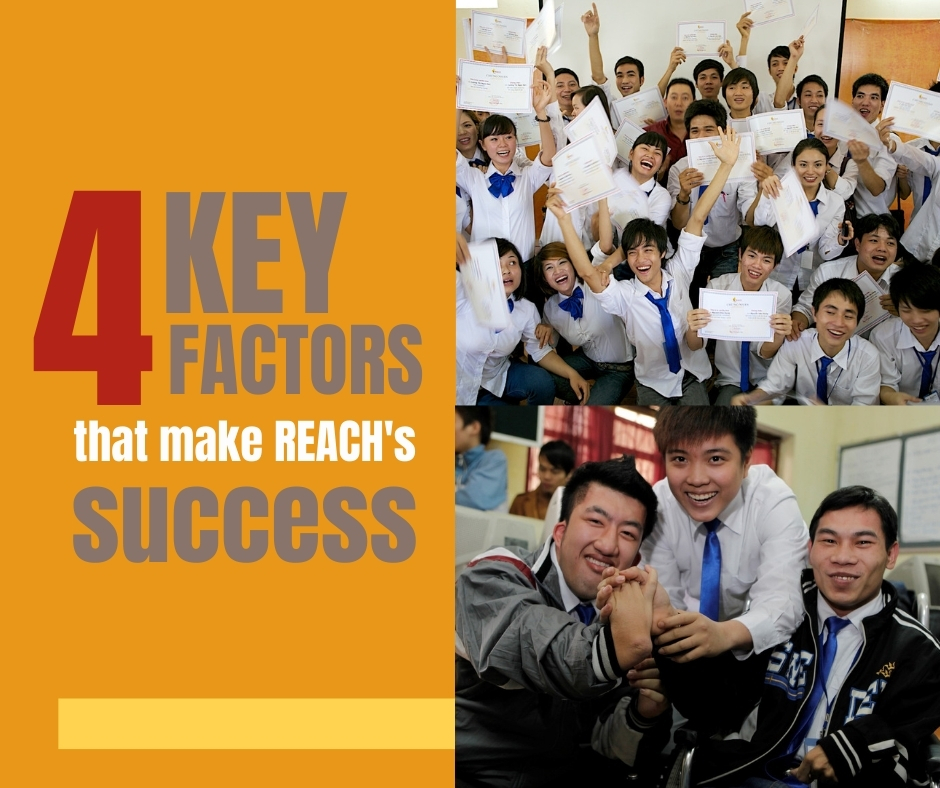 4 Key factors that make REACH's success
