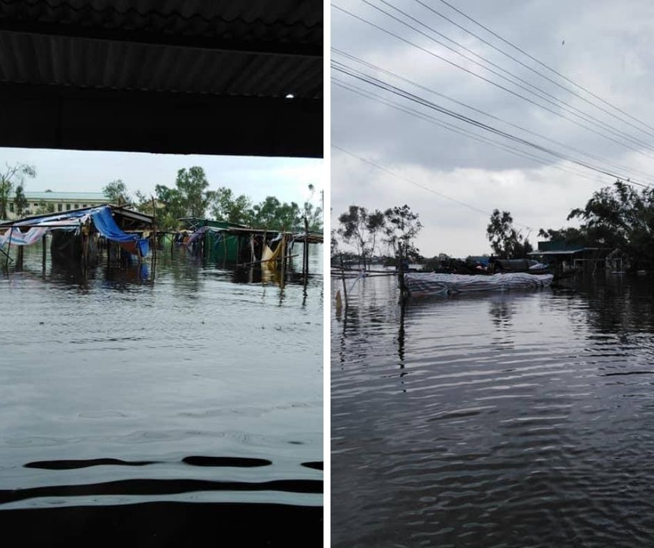 Some pictures of REACH students' families facing floods and storms in Central Vietnam (10)