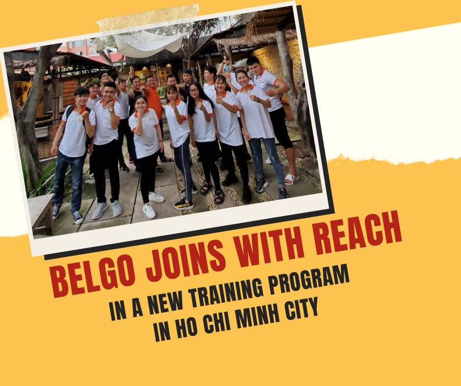BELGO joins with REACH in a new training program in Ho Chi Minh city