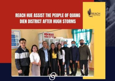REACH Hue Assists the people of Quang Dien district after huge tropical storms