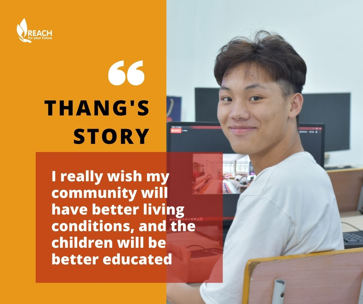 Empowering a community without power - Thang's story